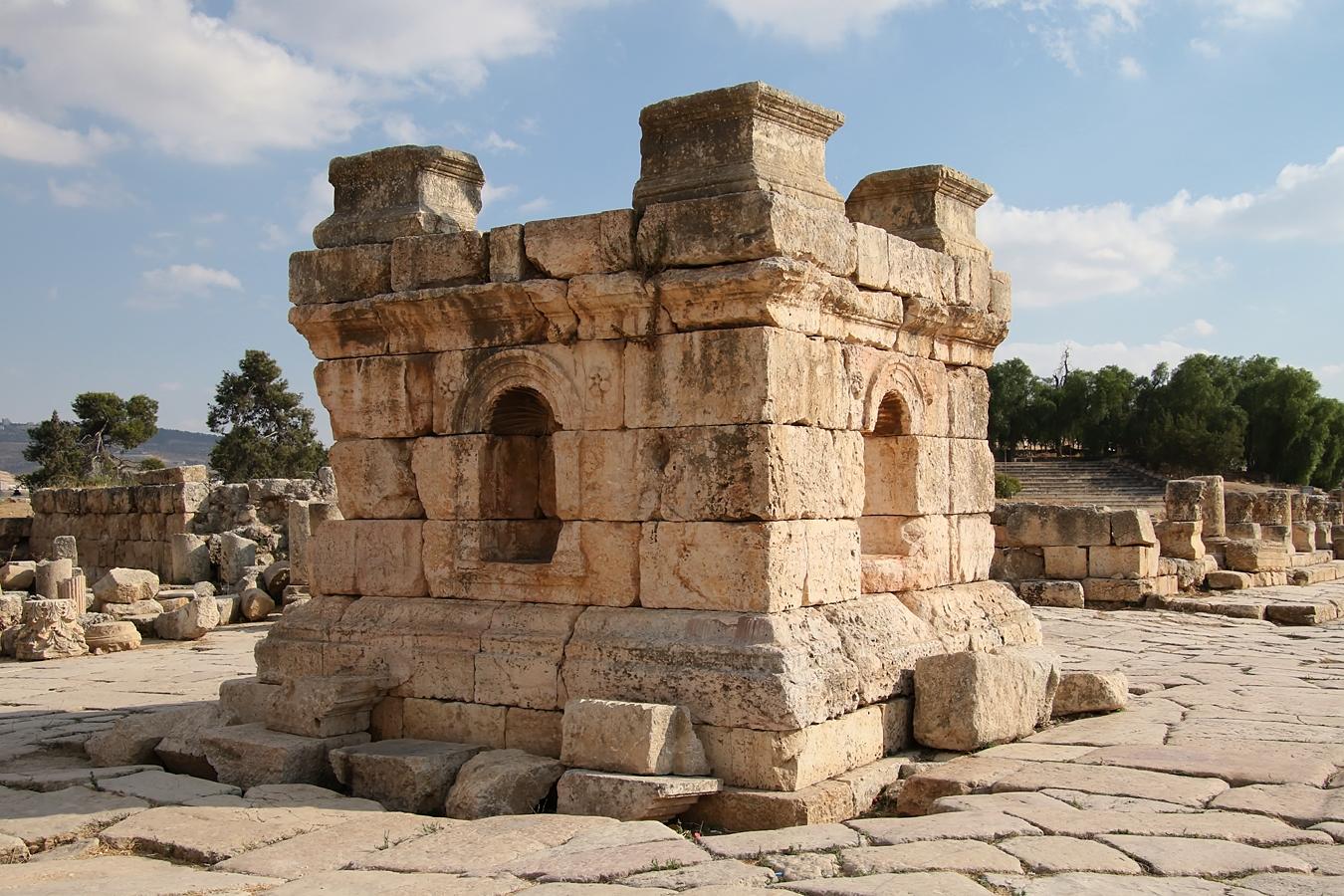 Tetrapylon, de rotonde in de oudheid