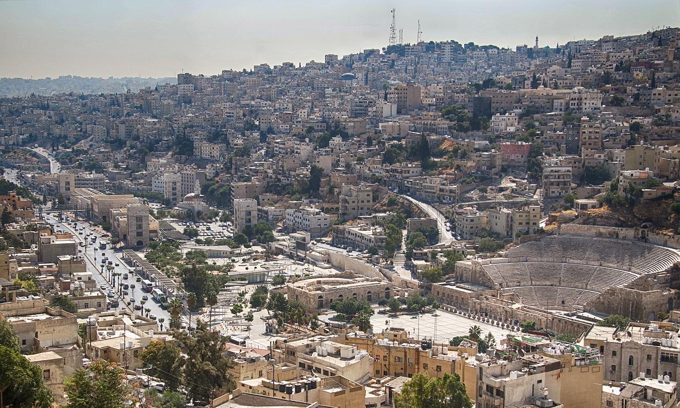 Amman met Romeins theater